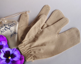 Garshan silk massage gloves